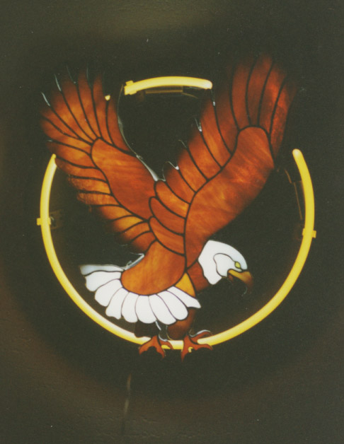 Eagle with Neon 2
